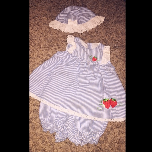little bitty Other - 💙Infant Baby Girl Outfit 💙